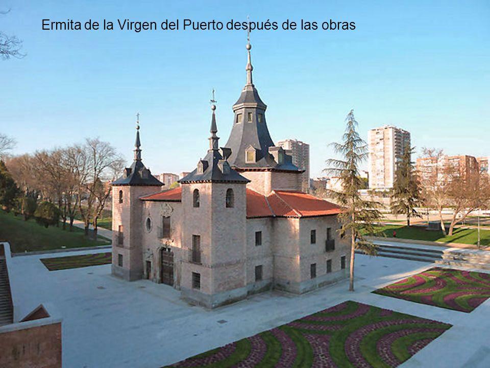 Ermita de la Virgen del Puerto después de las obras