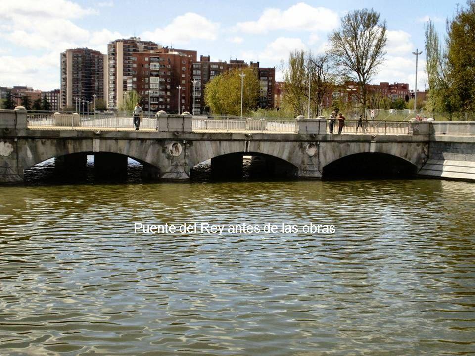 Puente del Rey antes de las obras