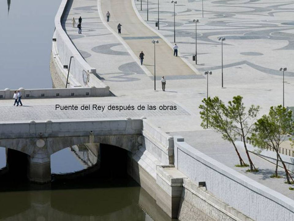 Puente del Rey después de las obras