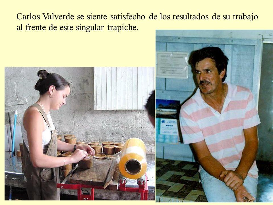 Carlos Valverde se siente satisfecho de los resultados de su trabajo
