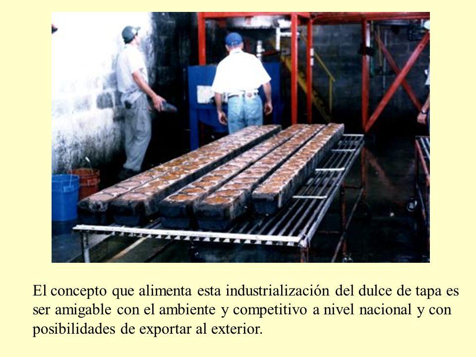 El concepto que alimenta esta industrialización del dulce de tapa es