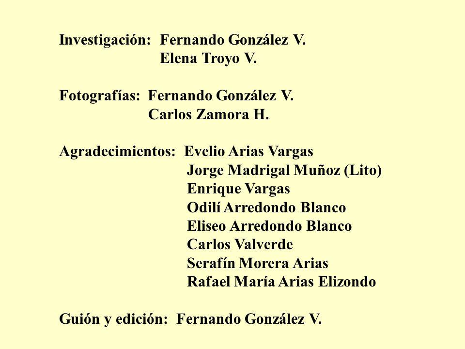 Investigación: Fernando González V.