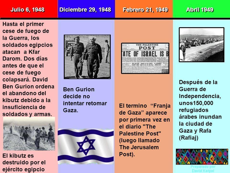 Julio 6, 1948 Diciembre 29, 1948. Febrero 21, 1949. Abril 1949.