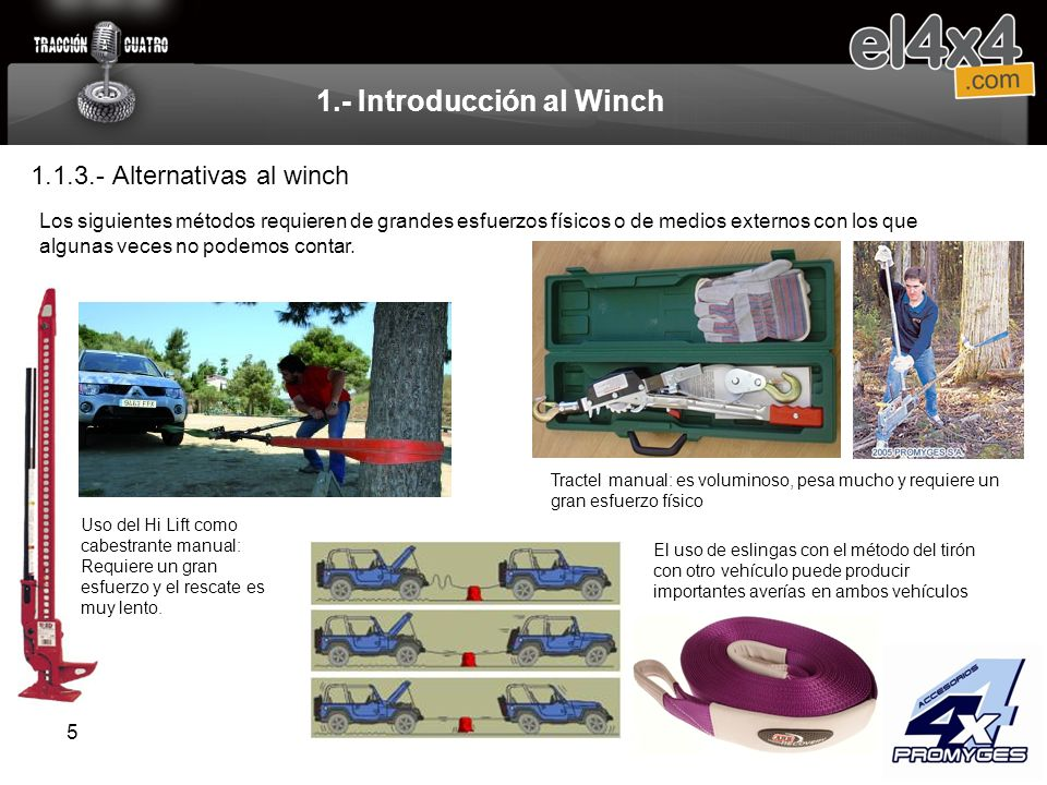1.- Introducción al Winch