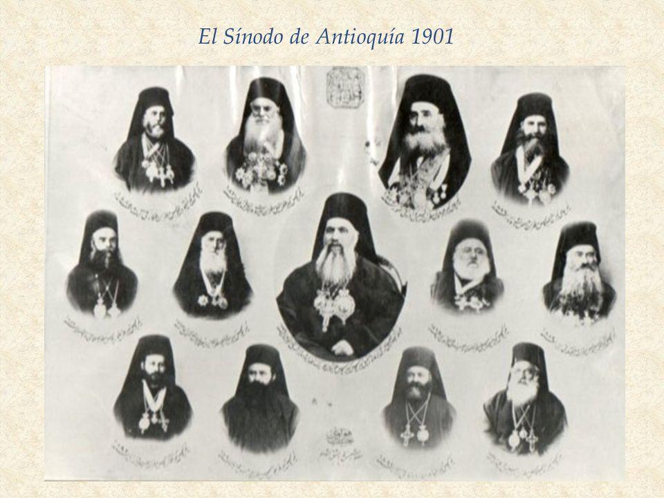 El Sínodo de Antioquía 1901