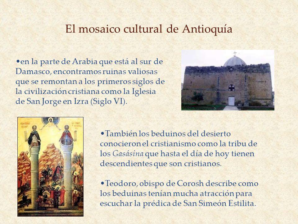 El mosaico cultural de Antioquía
