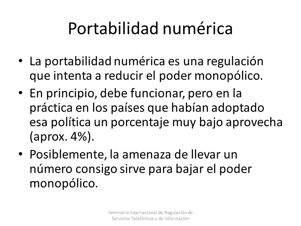 Portabilidad numérica