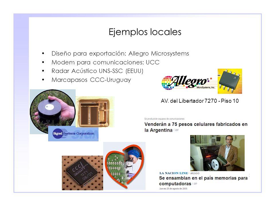 Ejemplos locales Diseño para exportación: Allegro Microsystems