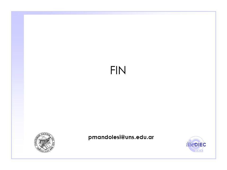 FIN pmandolesi@uns.edu.ar