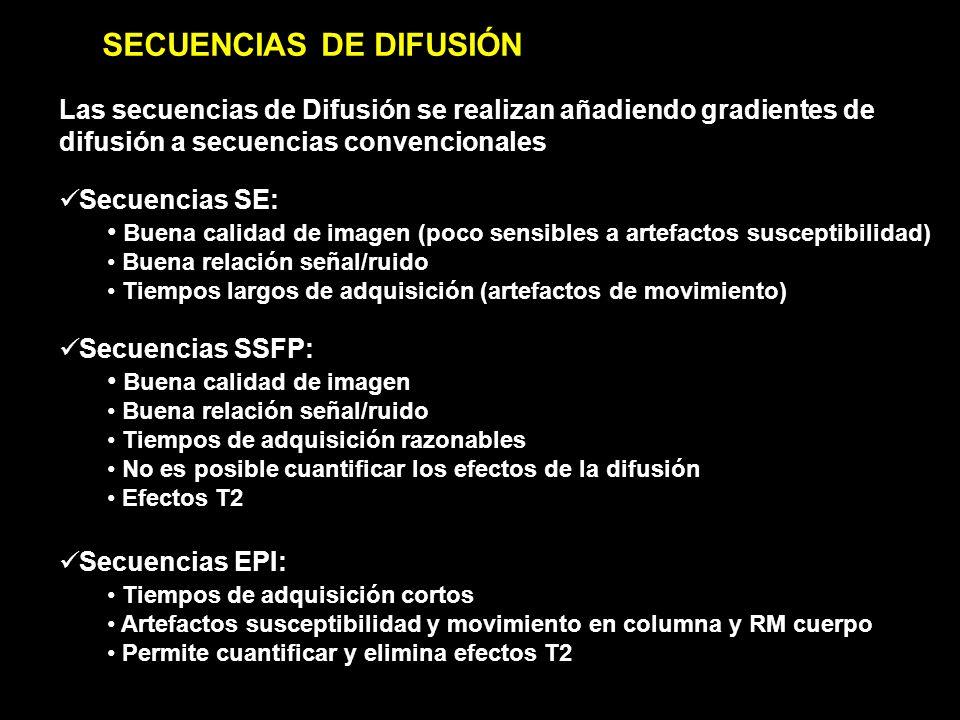 SECUENCIAS DE DIFUSIÓN