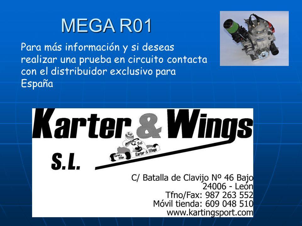 MEGA R01 Para más información y si deseas realizar una prueba en circuito contacta con el distribuidor exclusivo para España.