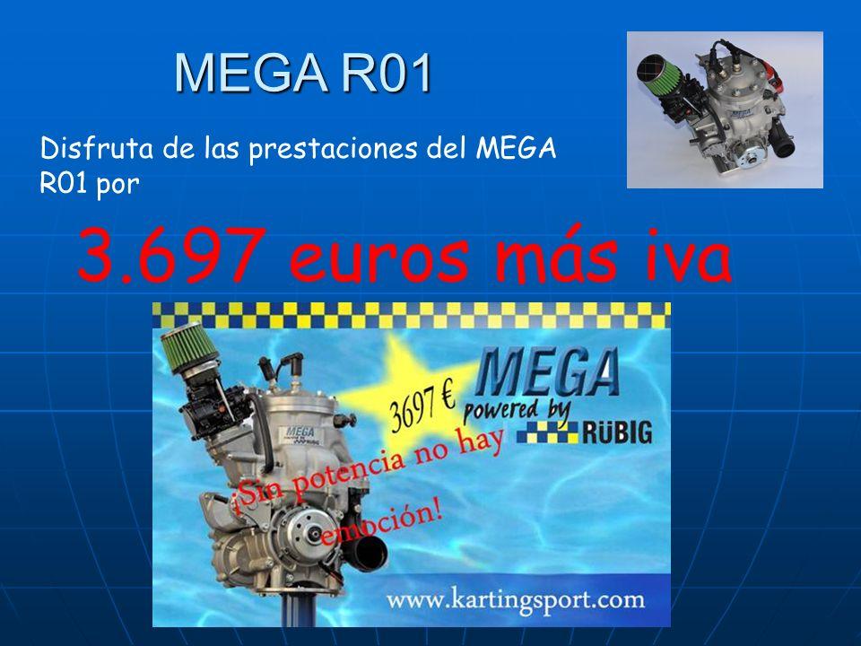 MEGA R01 Disfruta de las prestaciones del MEGA R01 por 3.697 euros más iva