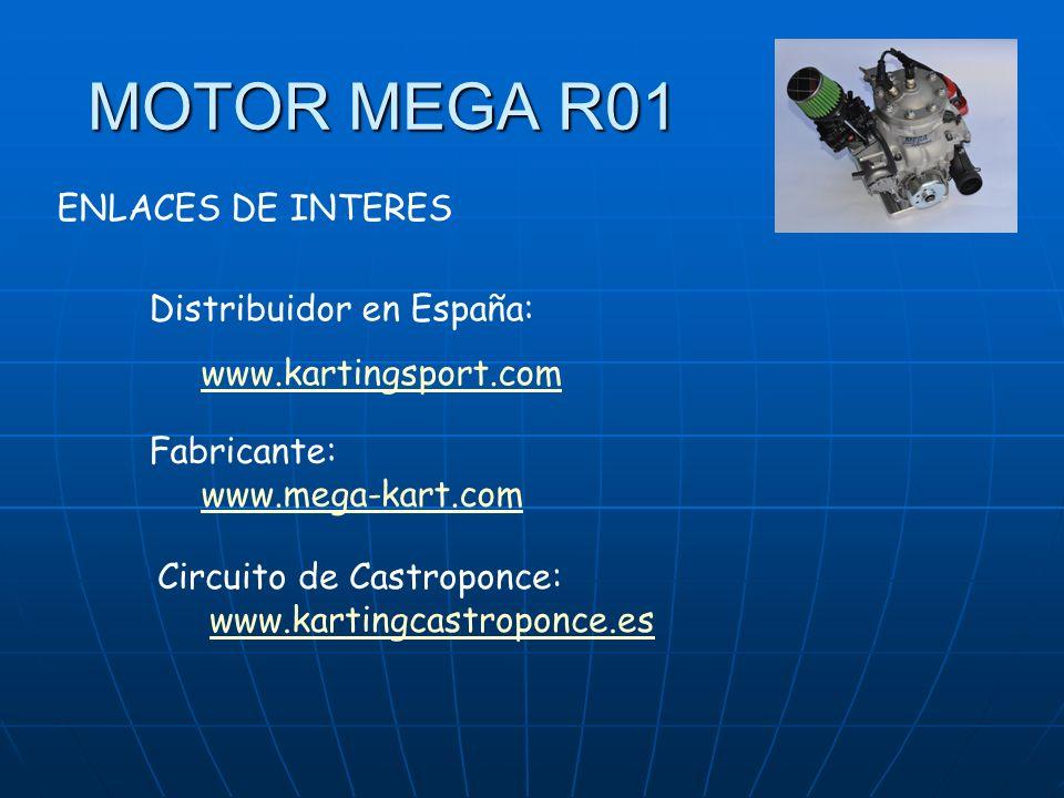 MOTOR MEGA R01 ENLACES DE INTERES Distribuidor en España:
