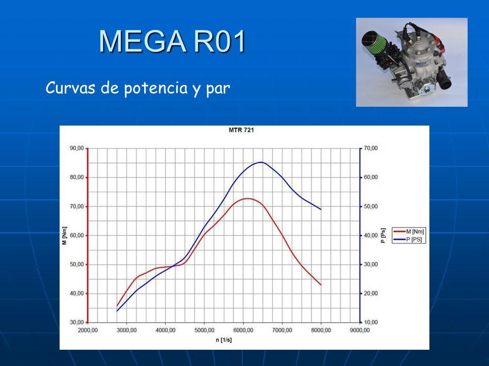 MEGA R01 Curvas de potencia y par