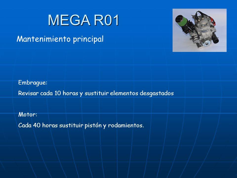MEGA R01 Mantenimiento principal Embrague: