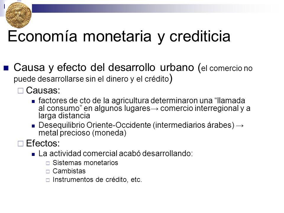 Economía monetaria y crediticia