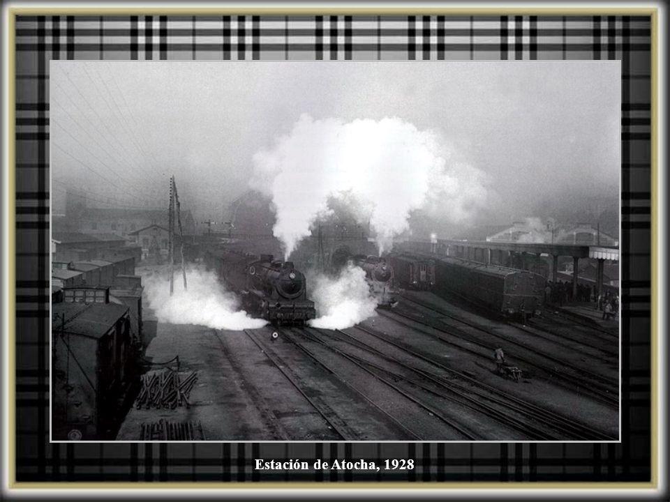 Estación de Atocha, 1928