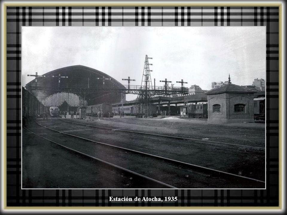 Estación de Atocha, 1935