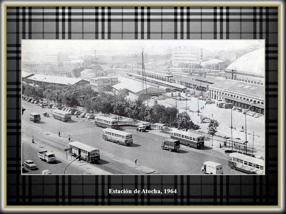Estación de Atocha, 1964
