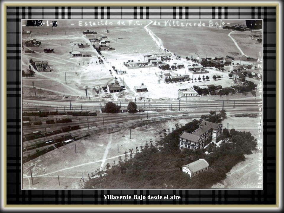 Villaverde Bajo desde el aire