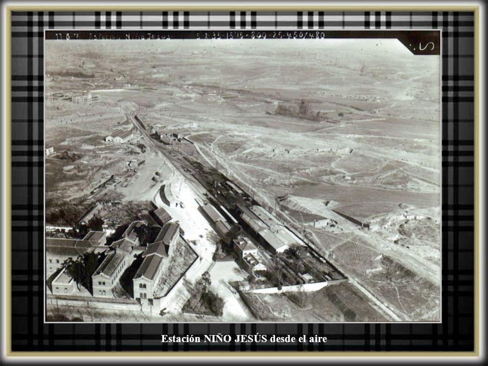 Estación NIÑO JESÚS desde el aire