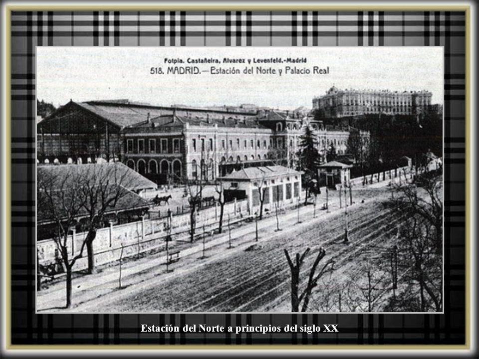 Estación del Norte a principios del siglo XX