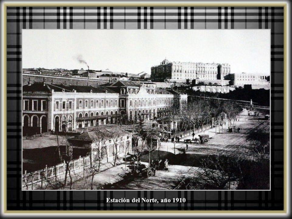 Estación del Norte, año 1910