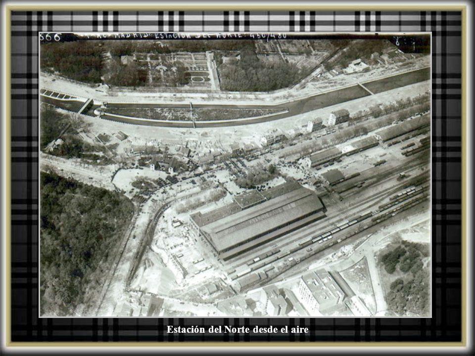 Estación del Norte desde el aire