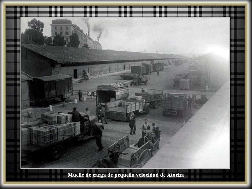 Muelle de carga de pequeña velocidad de Atocha