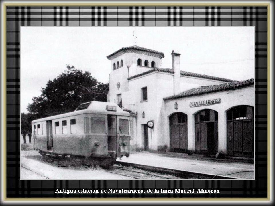 Antigua estación de Navalcarnero, de la línea Madrid-Almorox