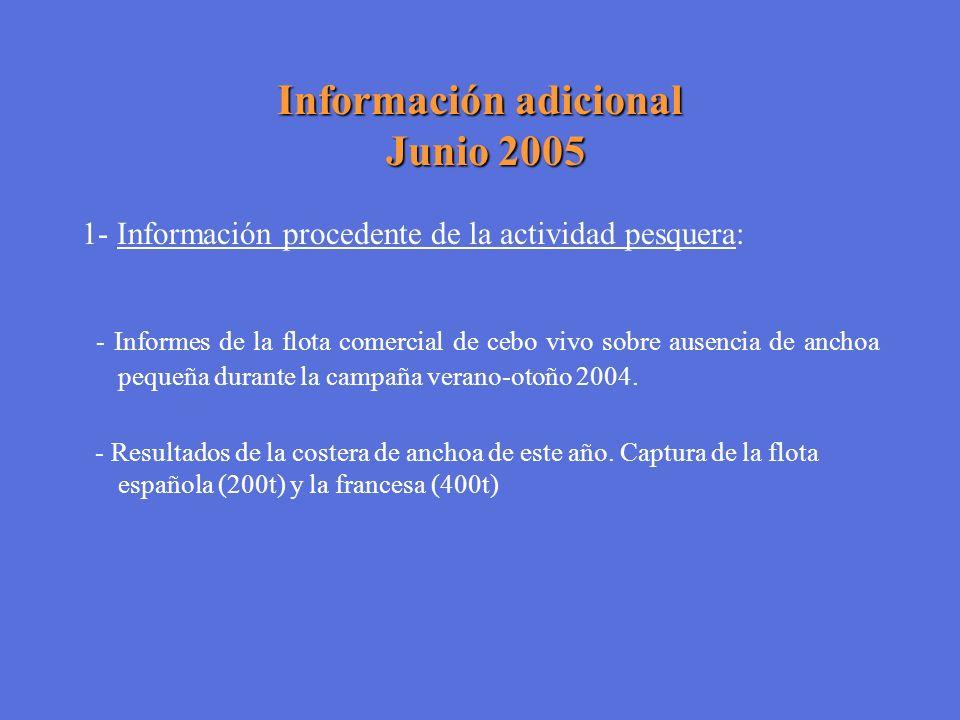 Información adicional Junio 2005