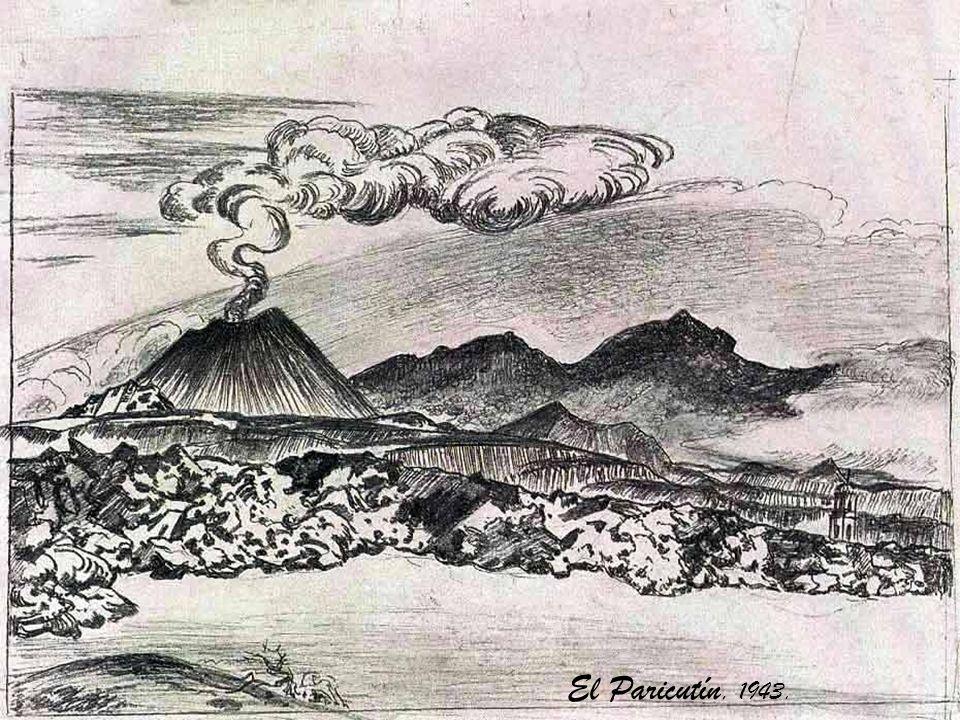 El Paricutín, 1943.
