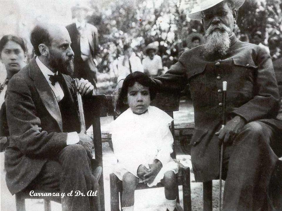 Carranza y el Dr. Atl