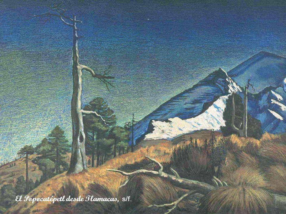 El Popocatépetl desde Tlamacas, s/f.