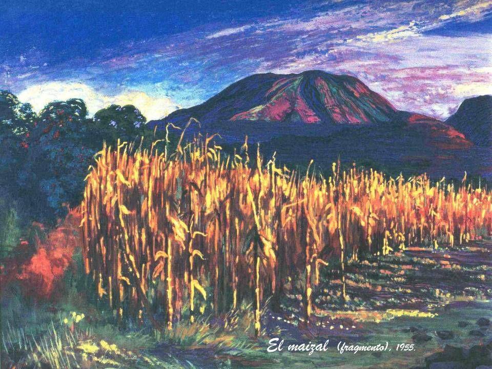 El maizal (fragmento), 1955.
