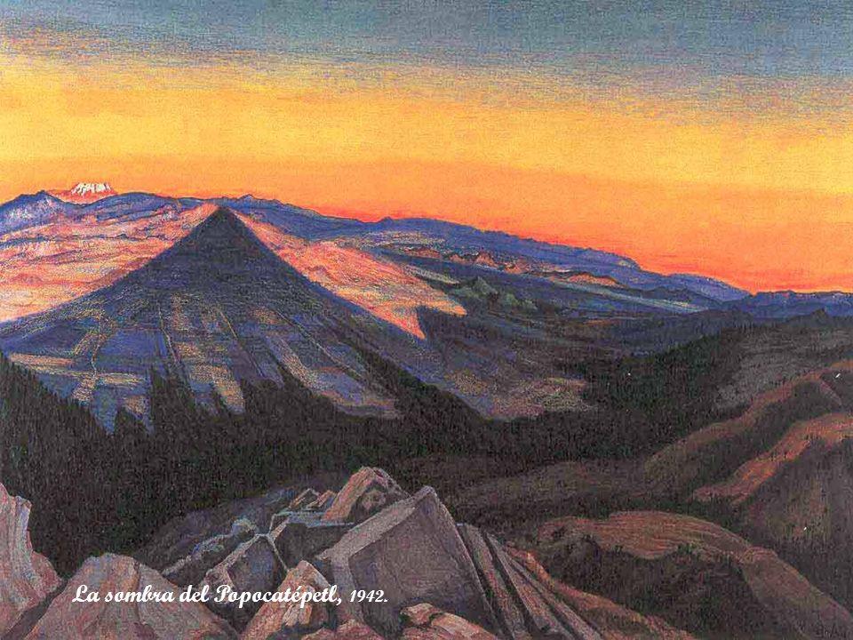 La sombra del Popocatépetl, 1942.