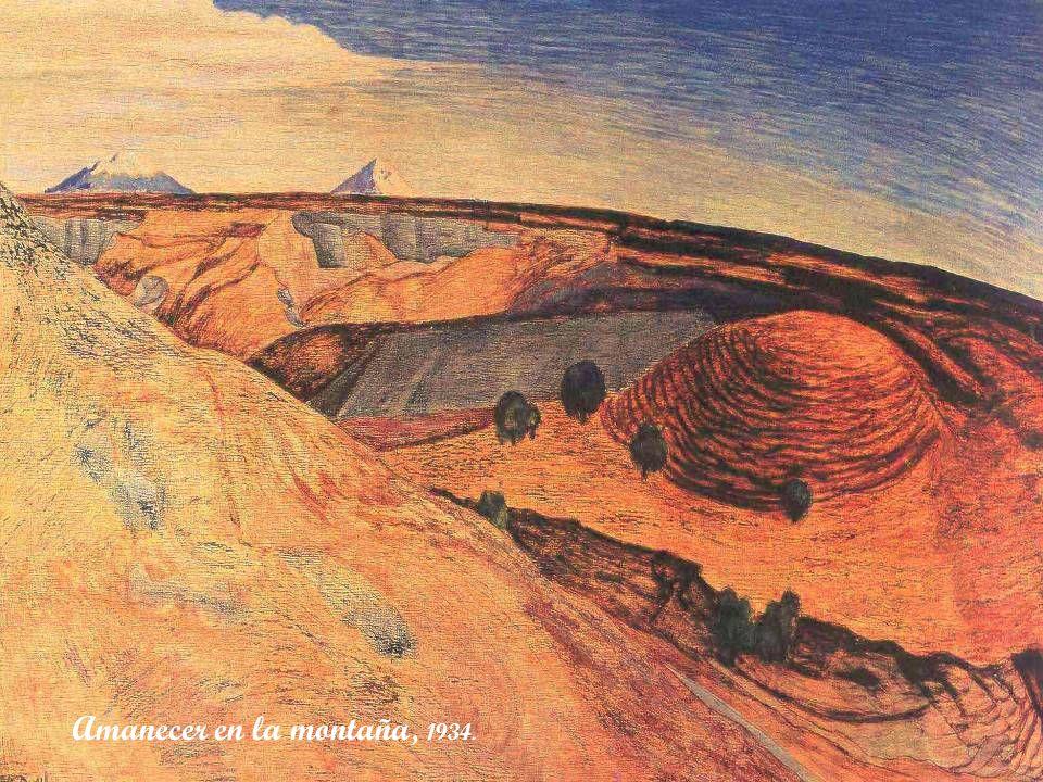 Amanecer en la montaña, 1934.