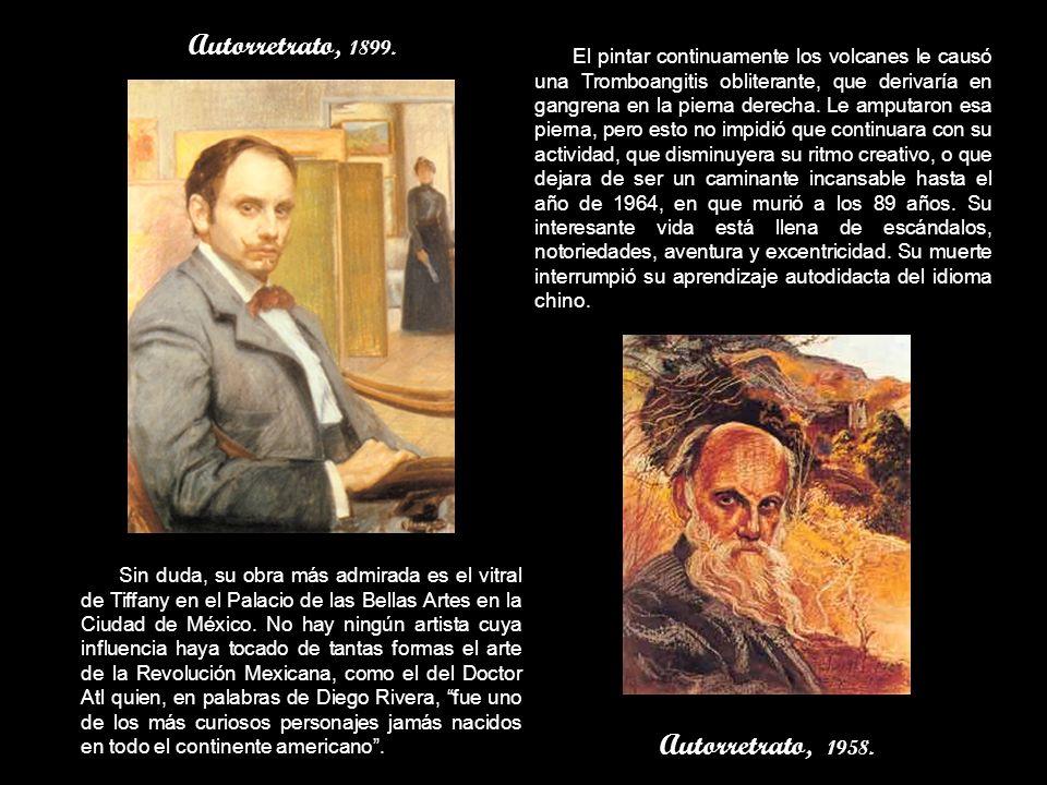 Autorretrato, 1899. Autorretrato, 1958.