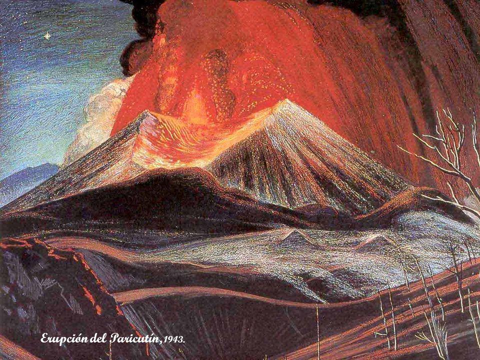 Erupción del Paricutín, 1943.