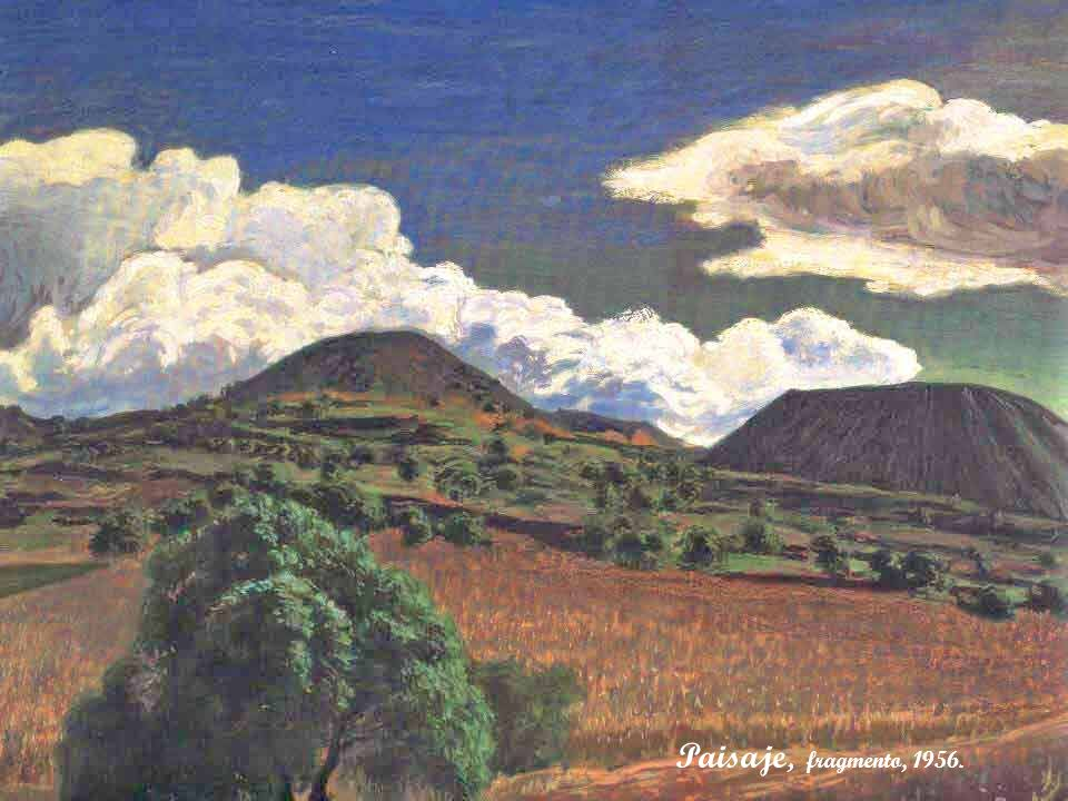 Paisaje, fragmento, 1956.