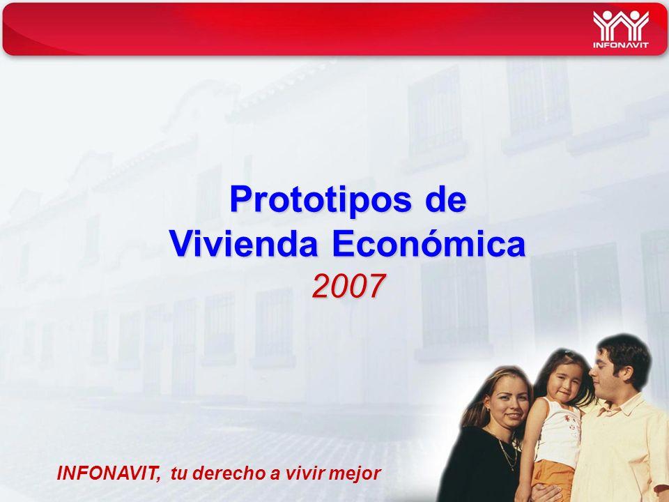 Prototipos de Vivienda Económica 2007