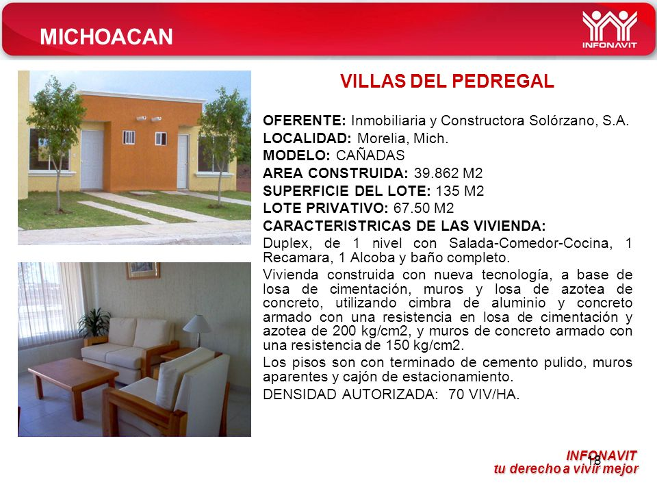MICHOACAN VILLAS DEL PEDREGAL