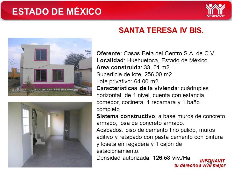 ESTADO DE MÉXICO SANTA TERESA IV BIS.