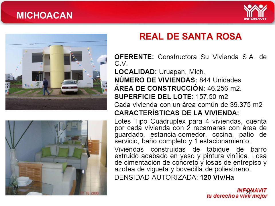 MICHOACAN REAL DE SANTA ROSA