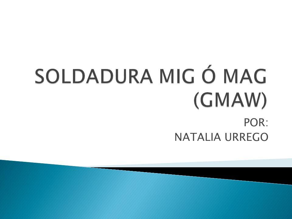 SOLDADURA MIG Ó MAG (GMAW)