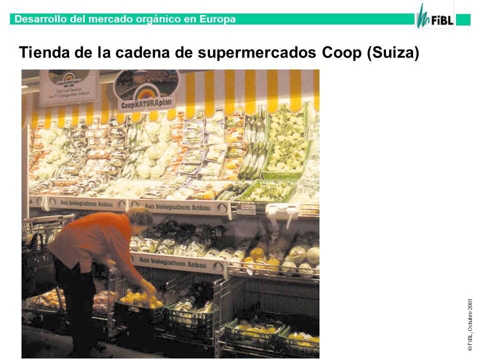 Tienda de la cadena de supermercados Coop (Suiza)