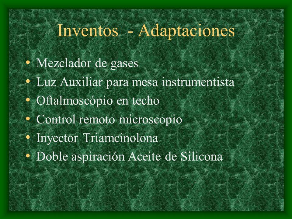 Inventos - Adaptaciones