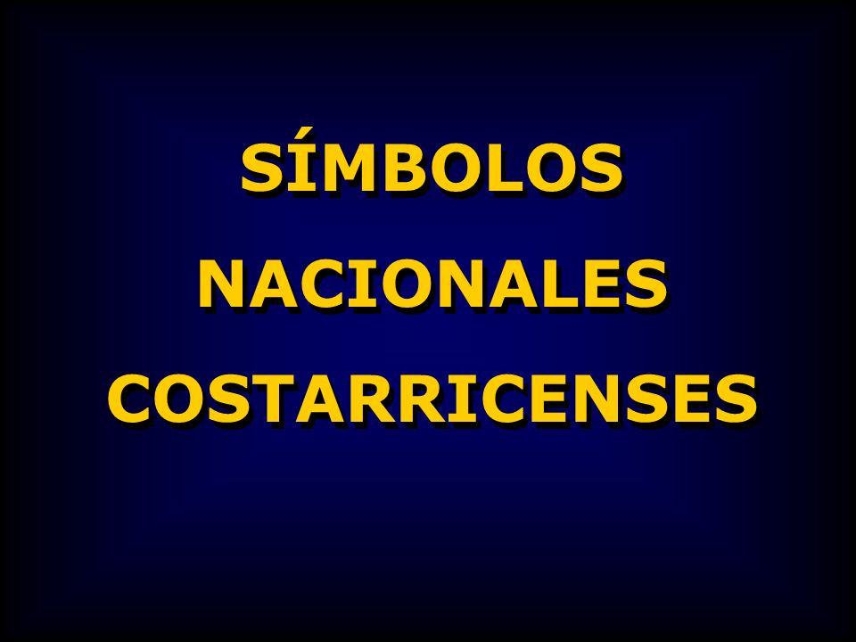 SÍMBOLOS NACIONALES COSTARRICENSES