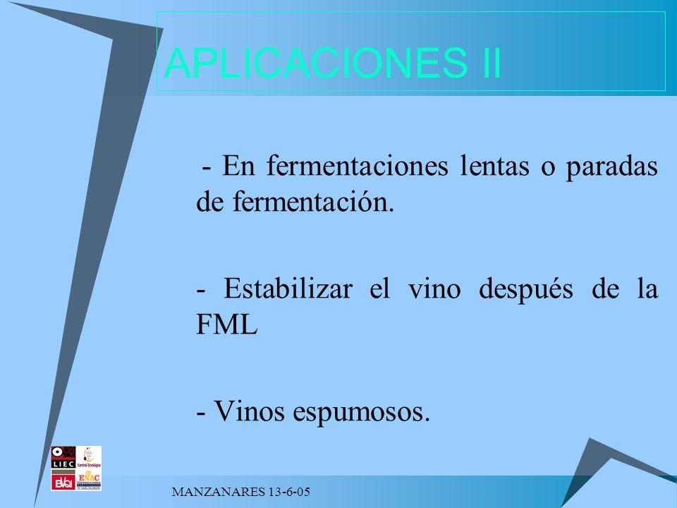 APLICACIONES II - Estabilizar el vino después de la FML