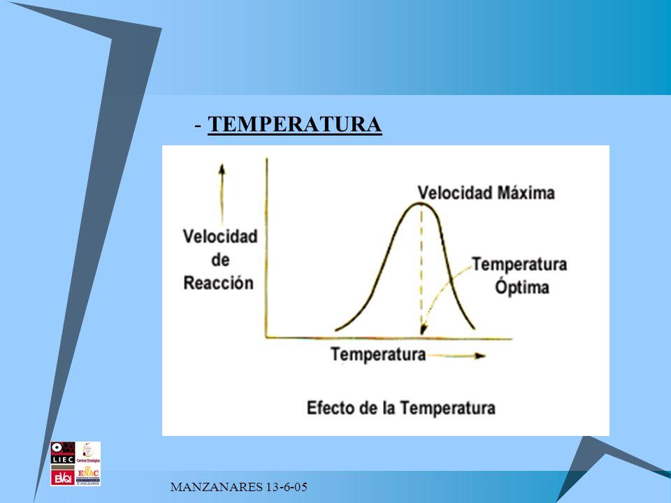 - TEMPERATURA MANZANARES 13-6-05